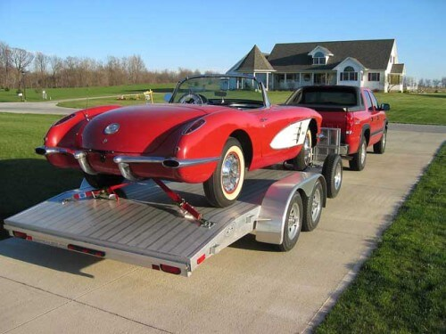 Vintage, classic, used, show corvette transportation services