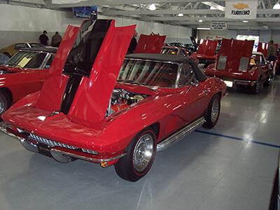 Classic, Rare, Vintage Corvette Auction